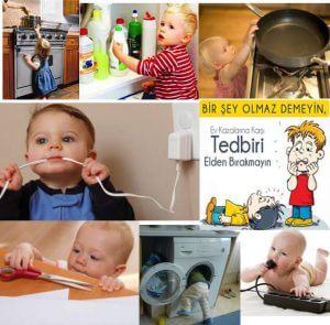 Evinizi Bebeğiniz İçin Güvenli Hale Getirmenin Temel Kuralları